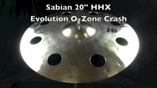 sabian 20 hhx evolution o zone crash