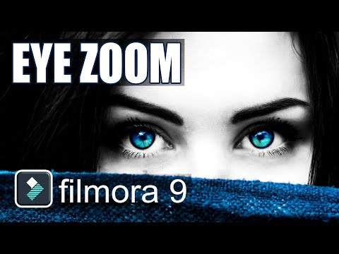 Eye Zoom Transition