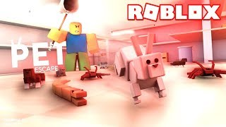 PETS ESCAPEING HUMANS IN ROBLOX! 🐶