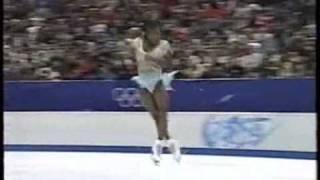 SURYA BONALY 1998 NAGANO OLYMPICS japanese version