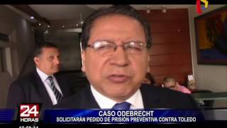 Caso Odebrecht: solicitarán pedido de prisión preventiva contra Alejandro Toledo