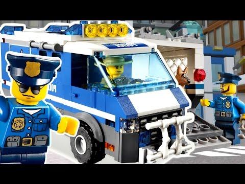 🚗🚕🚙 Гоночные Лего Машинки и Мотоциклы - Лего Полиция Игра и Мультфильмы