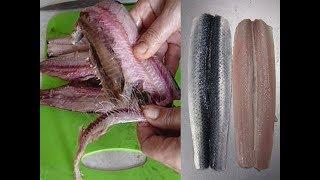 Как почистить селедку быстро и филе без костей!    how to clean the fish from bones