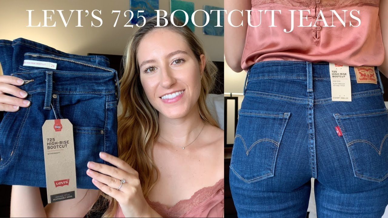 Levi S 725 Bootcut Jeans Review Youtube