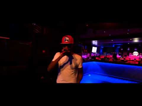 Dolla Ru performs live at The Spot Karaoke Lounge in NYC
