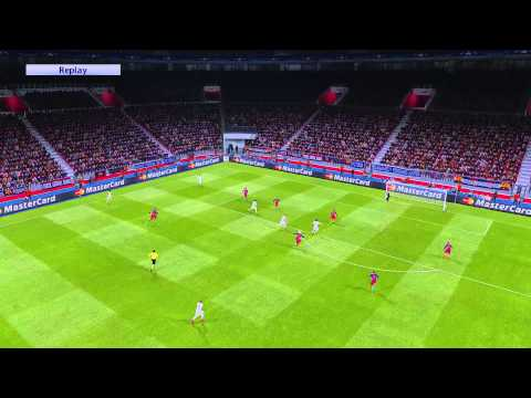 PES 2016 - Barcelona VS Real Madrid Ultra HD Graphic Patch PC ทดสอบเทส