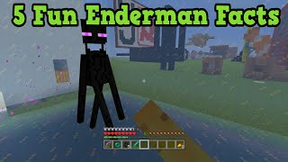 Minecraft Xbox 360 / PS3 - 5 Useful Enderman Facts
