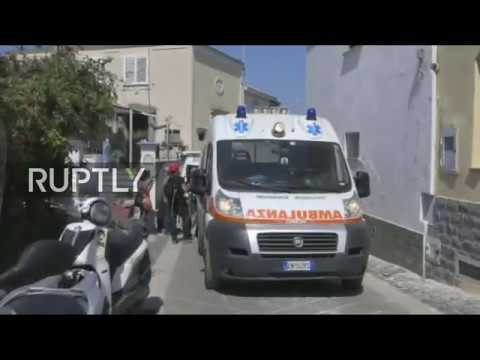 LIVE from Ischia as rescue operations follow deadly earthquake