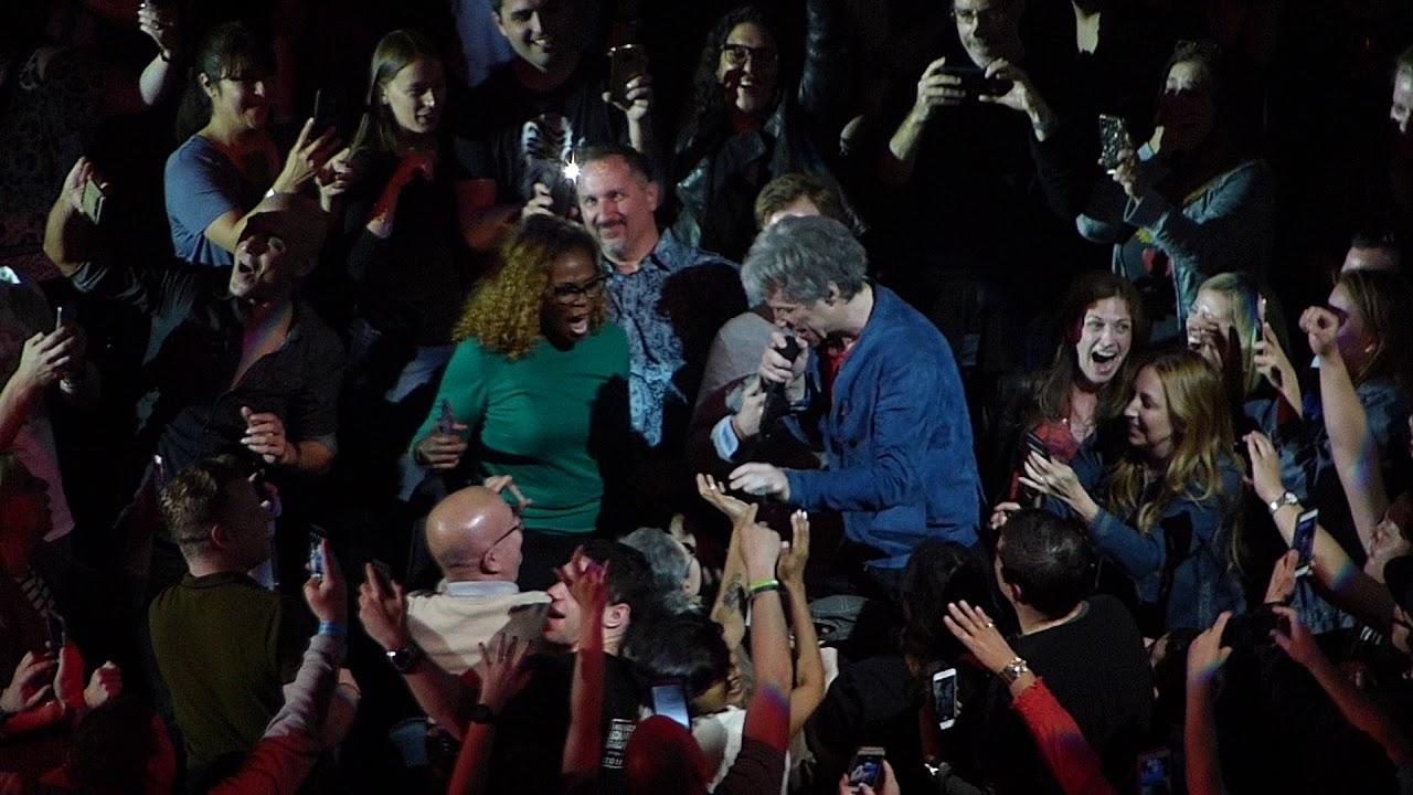 Bed Of Roses Bon Jovi May 10 2018 Madison Square Garden Youtube