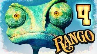 Rango Walkthrough Part 4 -- 100% Items (PS3, X360, Wii) Level 3 - The Forbidden Mine