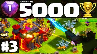 Clash of Clans ♦ Quest to 5000 Trophies ♦ Will Town Hall 11 Bring FAILS? ♦ Episode 3 ♦