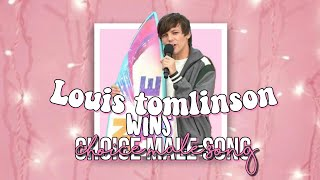 LOUIS TOMLINSON WIN BEST MALE SONG |TEEN CHOICE AWARDS 2019