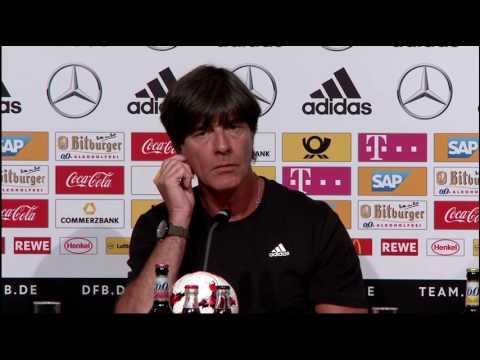 DFB PK mit Joachim Löw vor dem Spiel gegen San Marino 09/06/17