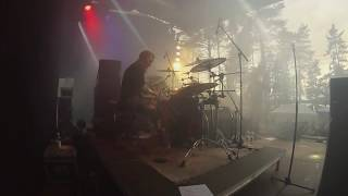 Gloria Morti - Executioner DRUM CAM (live at Nummirock 2016)