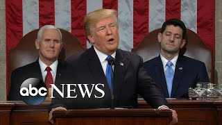 Notable moments from Trump's State of the Union address