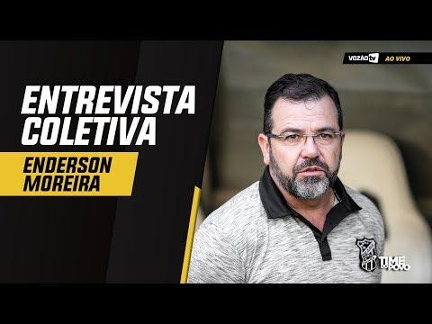 COLETIVA Coletiva Enderson Moreira  05092019  Vozão TV