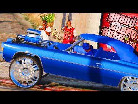 Bloods vs Crips! Gang Attacks & Bad Business! - (Gang Mod 31) GTA 5 Drug Trafficking Mod - Day 117