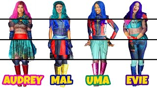Descendants 3 Clothes Switch Up Mystery Box Challenge. Mal, Evie, Uma & Audrey. Totally Tv Parody.