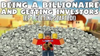 [Roblox] City Simulator: Being a billionair & getting investors (EP1 GETTING STARTED)