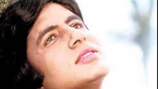 amitabh bachan first song in his own voice