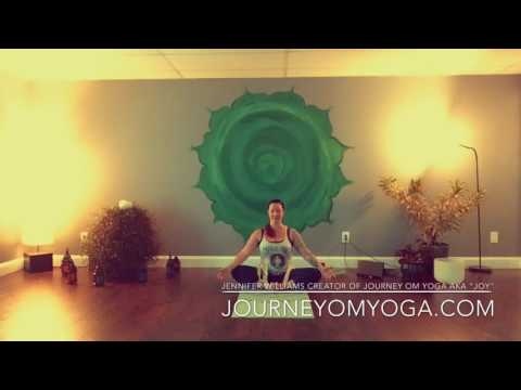 J.O.Y. Supported Cobblers Pose journeyomyoga.com