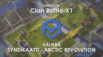 meSports | Clan Battle X1 | Syndikaatti vs AR | w/ Alec