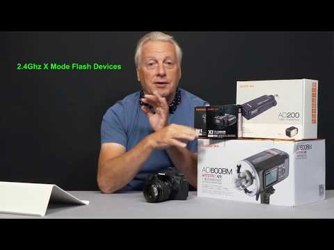 Godox AD200 Flash unit review and basic how to use.