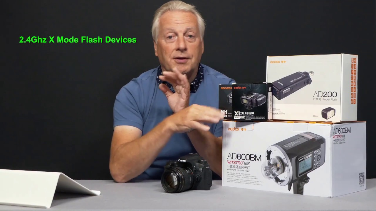 Godox AD200 Flash unit review and basic how to use