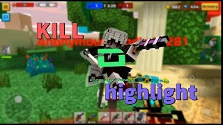 Pixel gun 3D Kill highlight  #2