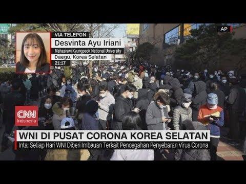 WNI Di Pusat Corona Korea Selatan