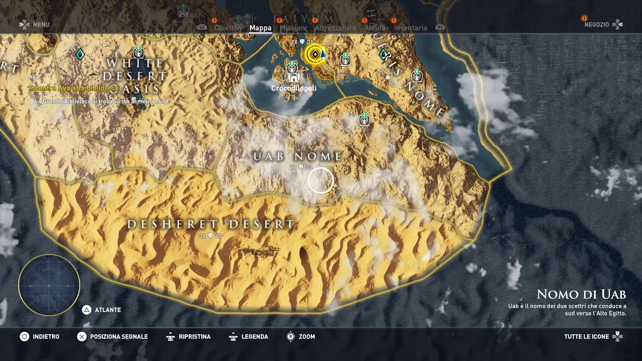 Assassin S Creed Origins Viewpoint Locations Map All 58 Synchronization Points Revealed Youtube