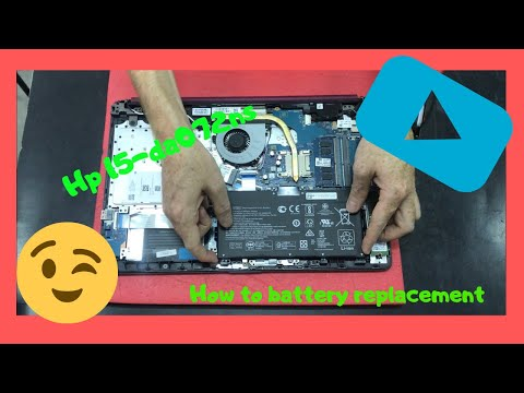 Hp 15-da 15-da0072ns How To Battery Replacement Disassembly