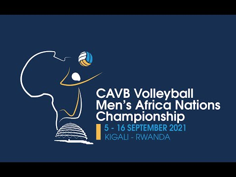 DR CONG VS CAMEROON CAVB Volleyball Men's Africa Nations Championship -   07.09.2021