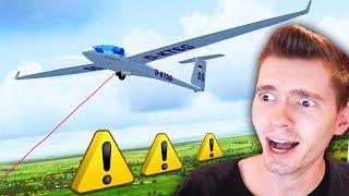 PILOTEI UM AVIÃO que NÃO TEM MOTOR!!! - X Plane 11 (PLANADOR)