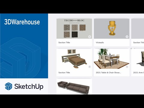 Adding New Catalogs in 3D Warehouse