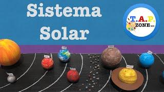Como hacer la maqueta del Sistema Solar - TAP ZONE mx