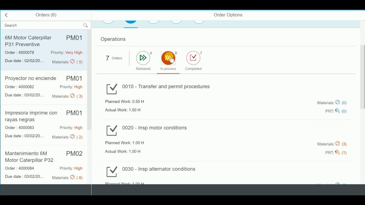 medium resolution of sap plant maintenance fiori app