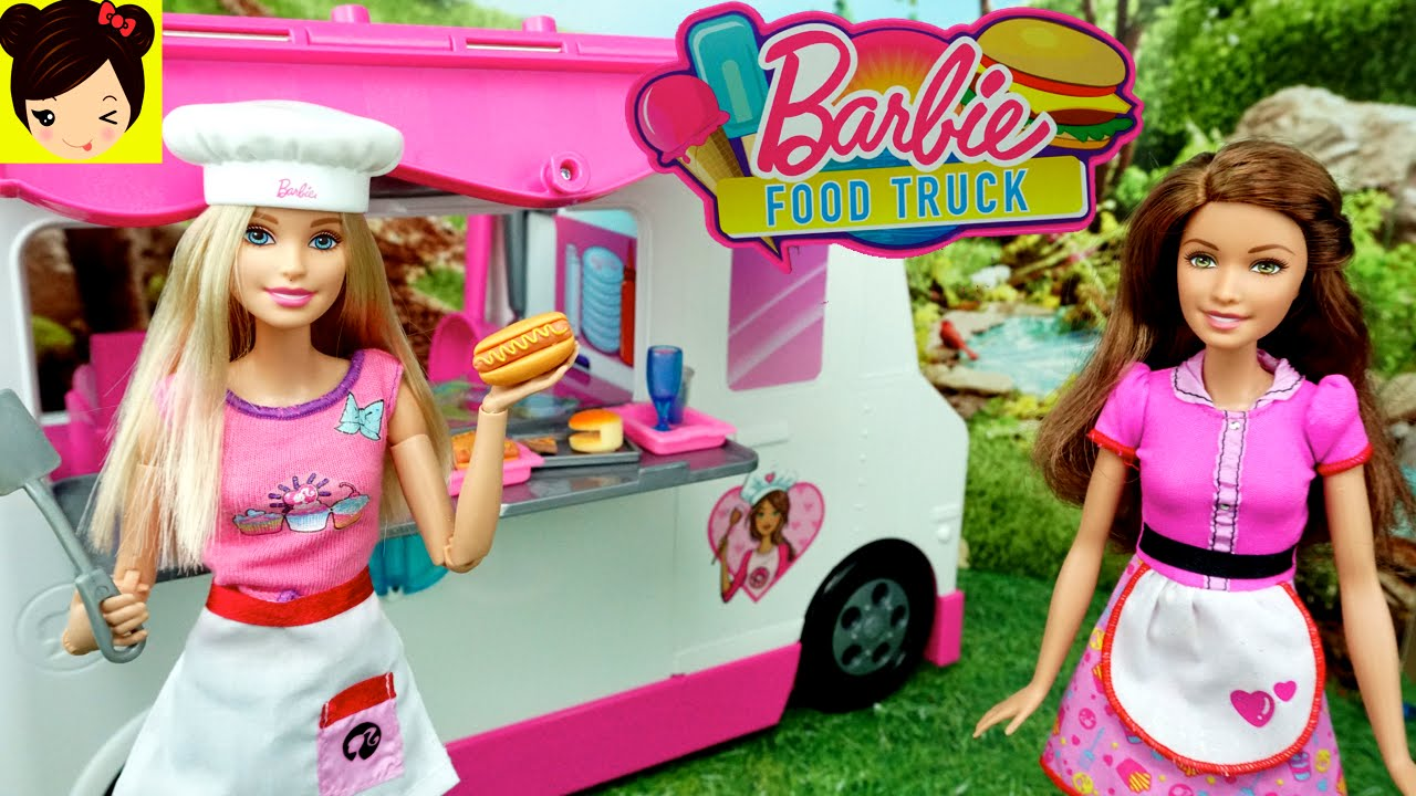 barbie camion de comida rapida con soy luna juguetes de barbie youtube. Black Bedroom Furniture Sets. Home Design Ideas