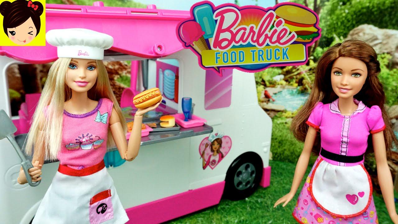 Barbie Camion De Comida Rapida Con Soy Luna Juguetes De Barbie