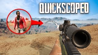 LONGEST QUICK-SCOPE EVER !!!!!!! | Best PUBG Moments and Funny Highlights - Ep.442