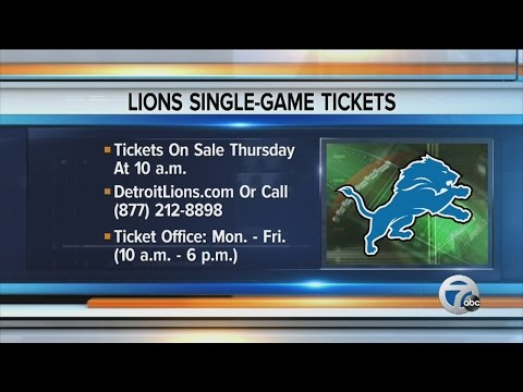 Detroit Lions begin training camp