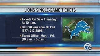 Detroit Lions begin training camp