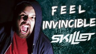 SKILLET - FEEL INVINCIBLE (Metal Cover) by Caleb Hyles and Jon…
