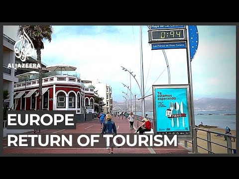 Al Jazeera English: Reopened shops in Europe eagerly await the return of tourism
