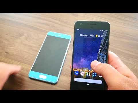 Android 9 Pie - Erster Eindruck und Vergleich mit Huawei EMUI