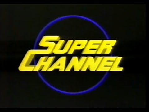 Channel 4 News item on SuperChannel - November 1985