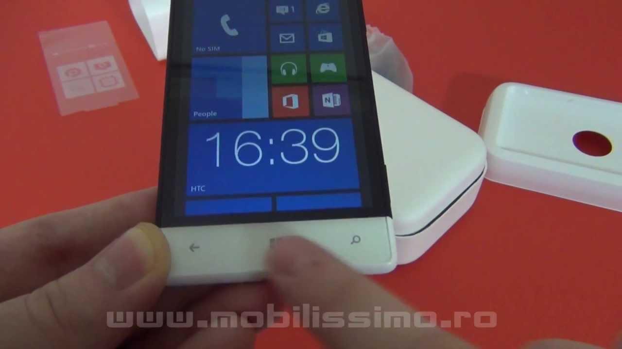 dea31e5b5a7 HTC Windows Phone 8S Unboxing (Windows Phone 8/ Beats Audio) -  Mobilissimo.ro
