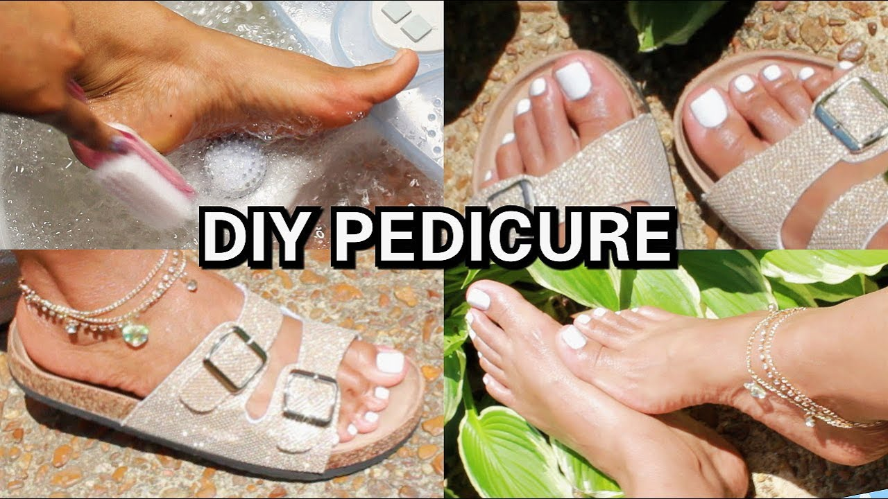 How to diy pedicure white nails soft feet 2018 youtube how to diy pedicure white nails soft feet 2018 solutioingenieria Gallery