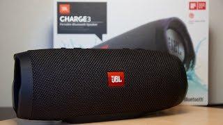 JBL CHARGE 3 - распаковка   подключение   тест