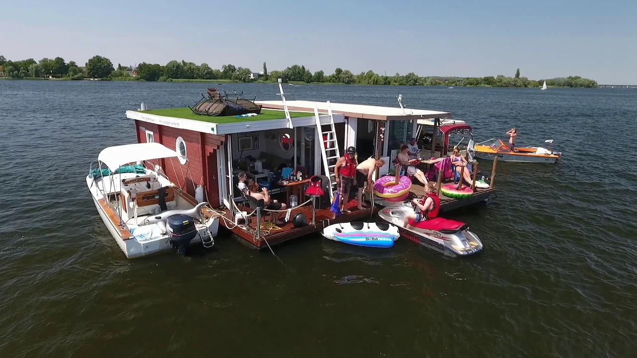 Hausboot Wochenende Werder Havel 2018 - YouTube